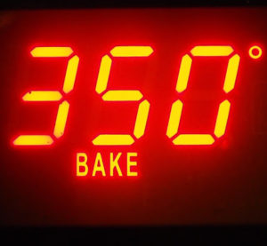 bake in oven at 350 degrees